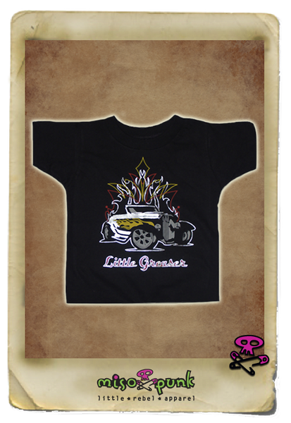 Little Greaser Boys Tee