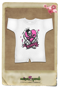 Punk Rock Princess Romper
