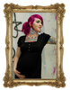 Combination Maternity Package*  Antique Skulls Dress | Pirate Punx Black and White Top | Black Leggings