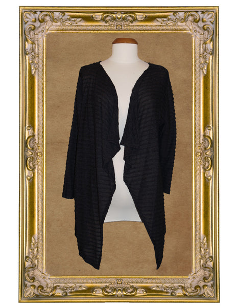 Chrysalis Black Cardigan