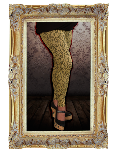 Yellow Cheetah Leggings