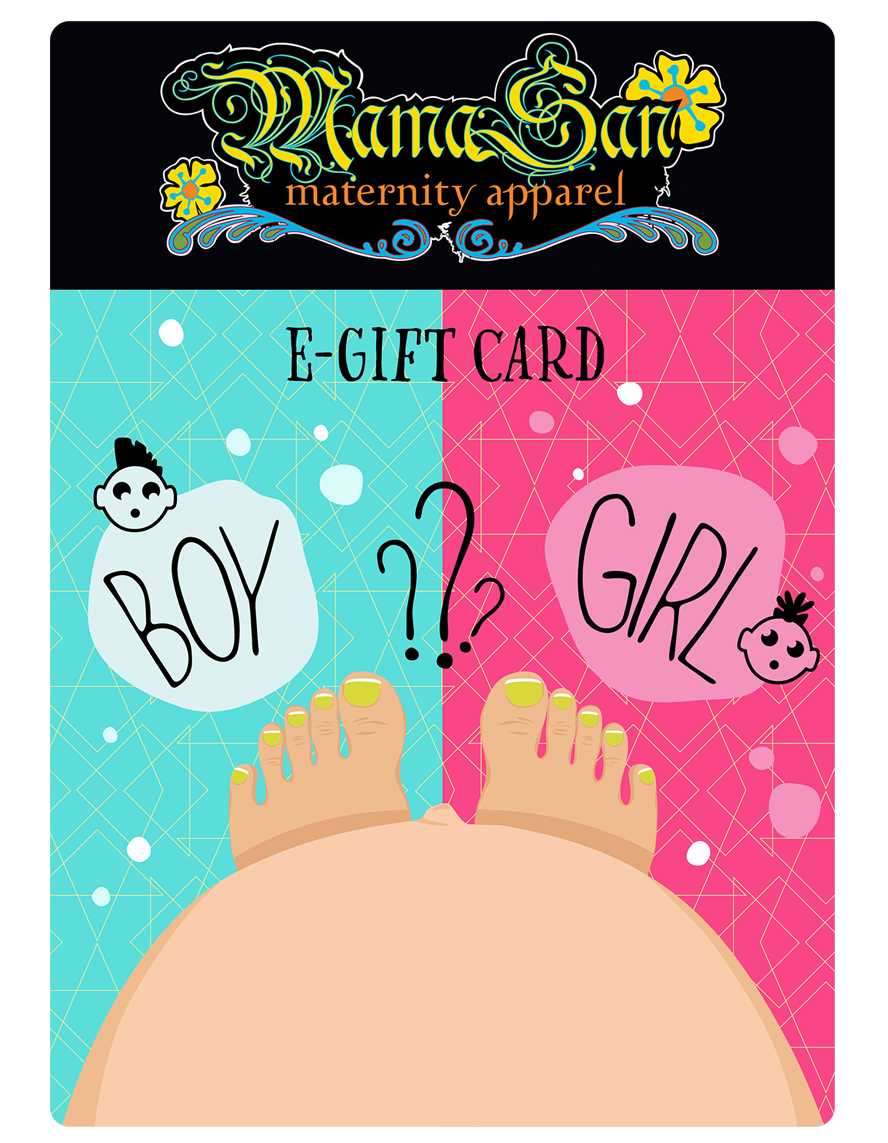 MamaSan Gift Boy/Girl e-gift Card