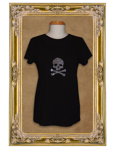 Bones and Bling Short Sleeve Maternity Tee