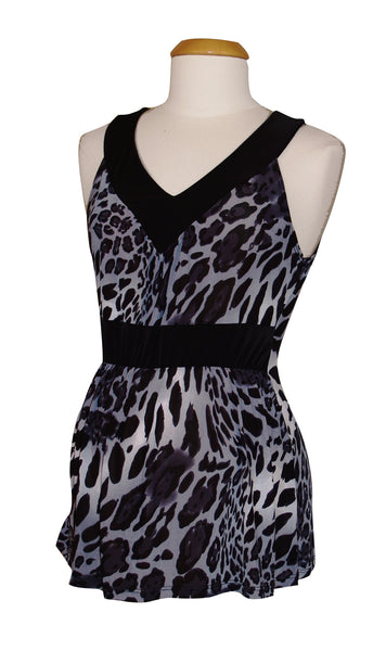 Wild Spots Sleeveless Top