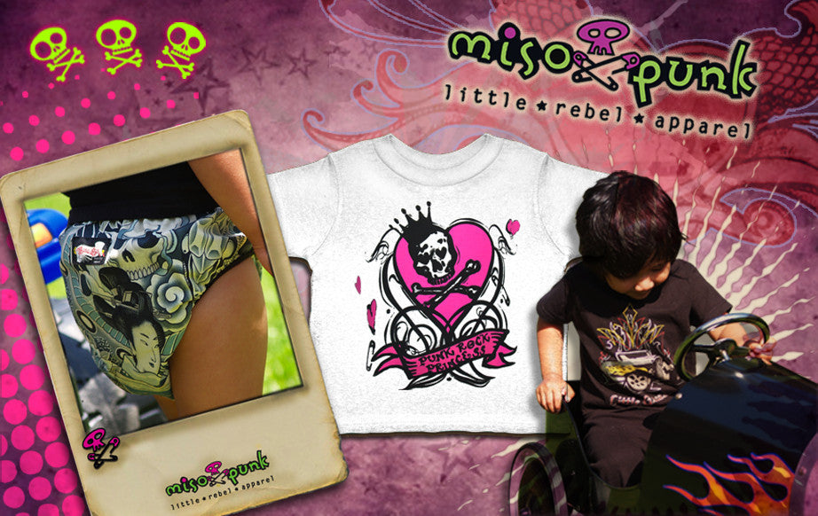 click to go to Miso Punk Little Rebel Apparel