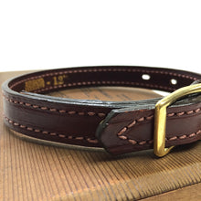 "Load image into Gallery viewer, Mendota Leather Dog Collar - Narrow (3/4"")"