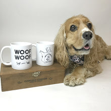 Load image into Gallery viewer, Coffee Mug 'Woof Woof'