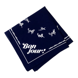 Multilingual 'Hello!' Dog Bandana
