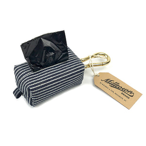 Dog Waste Bag Dispenser - Hickory Stripe