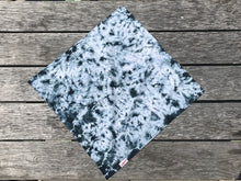 Load image into Gallery viewer, Dog Bandana  - Black Tie Dye