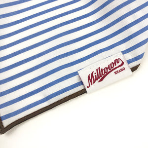 Dog Bandana  - Baby Blue Stripe