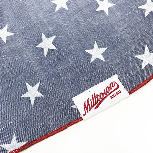 Dog Bandana - Stars Chambray