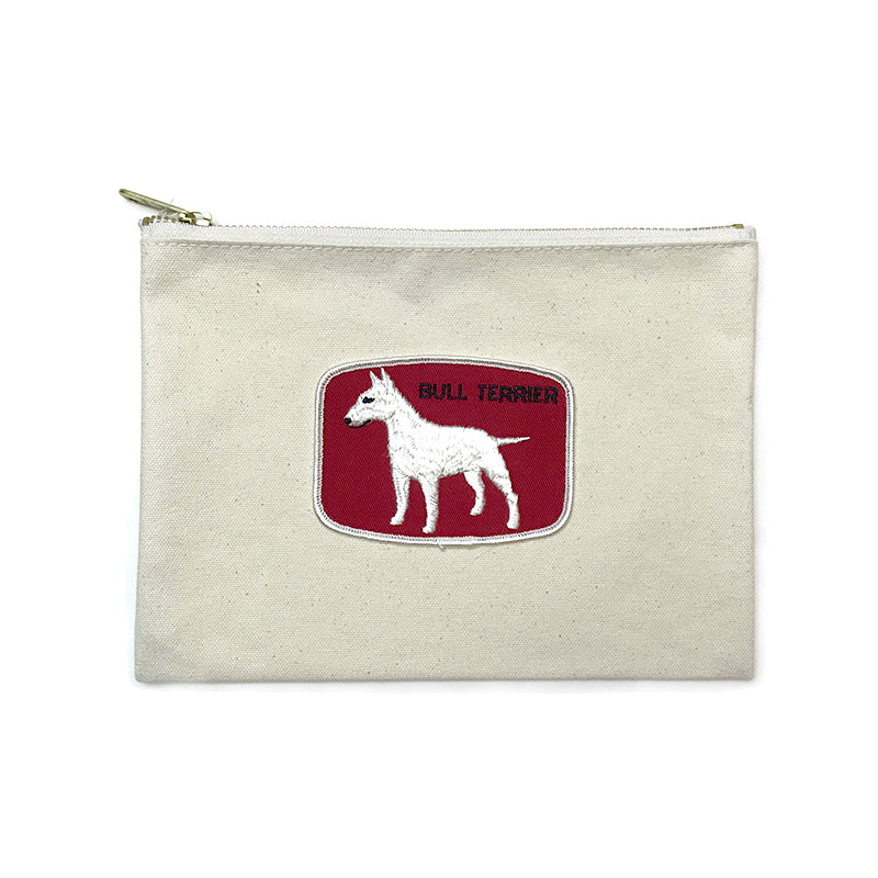 Vintage Dog Breed Pouch - Bull Terrier