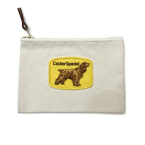 Vintage Dog Breed Pouch - Cocker Spaniel
