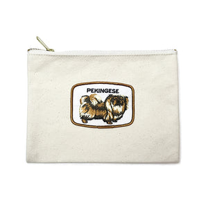 Vintage Dog Breed Pouch - Pekinese