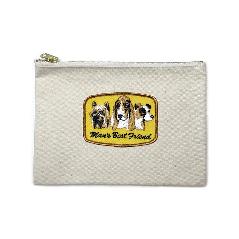 Vintage Dog Breed Pouch - Man's Best Friend