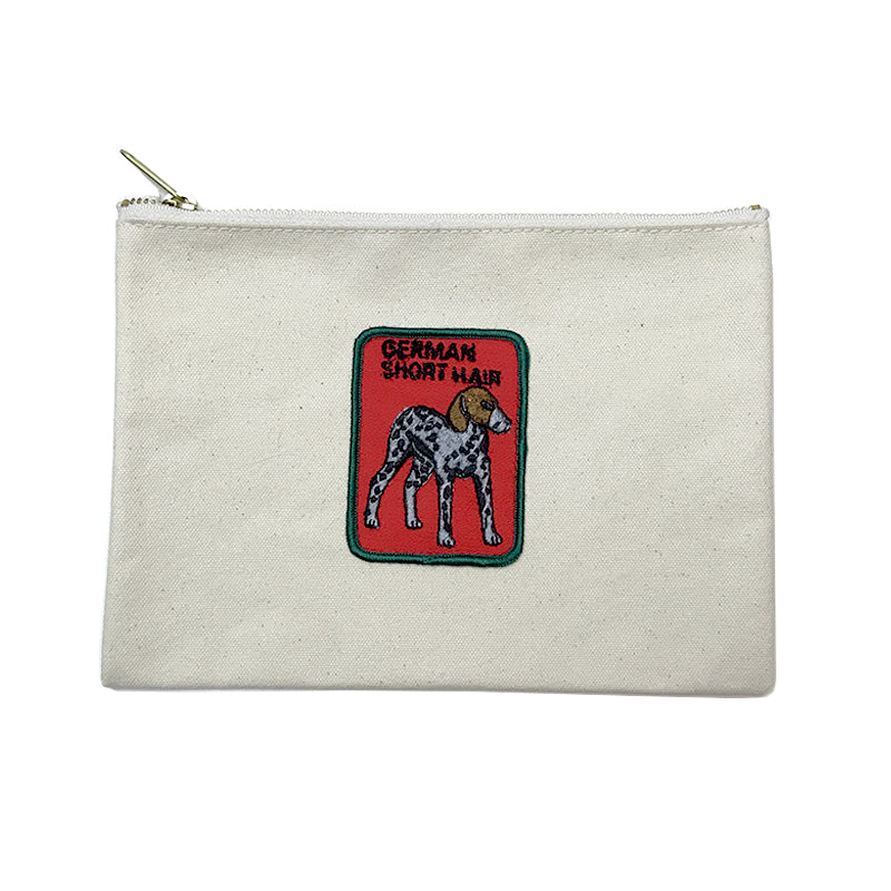 Vintage Dog Breed Pouch - German Shorthair