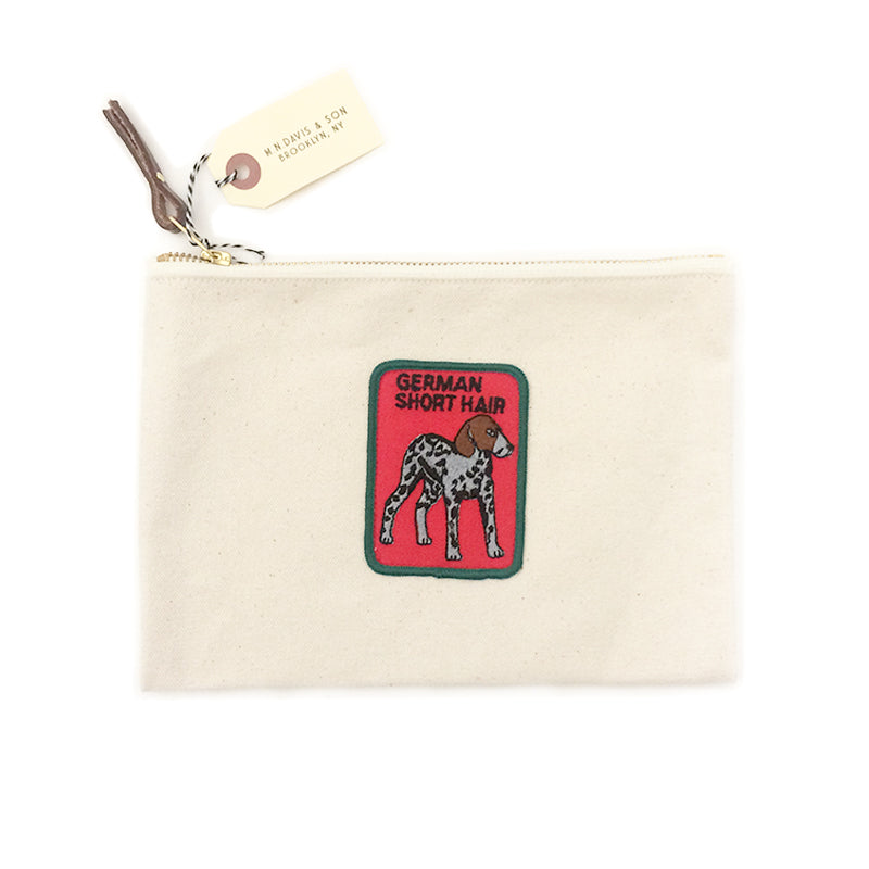 Vintage Dog Breed Pouch - German Short Haired Pointer