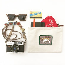 Load image into Gallery viewer, Vintage Dog Breed Pouch - Brown Dachshund