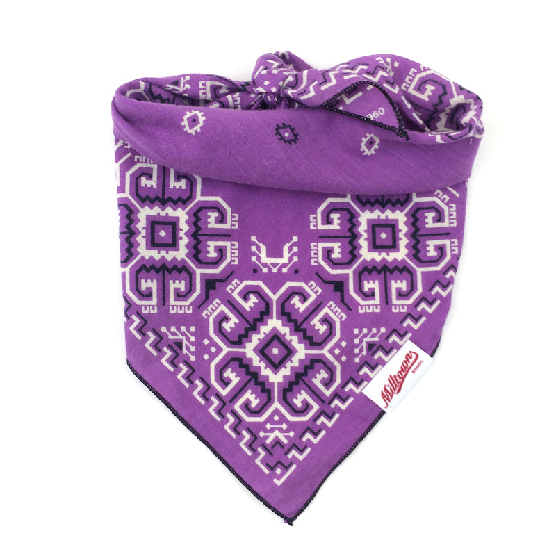 Dog Bandana  - Vintage Purple