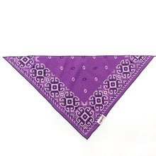 Load image into Gallery viewer, Dog Bandana  - Vintage Purple