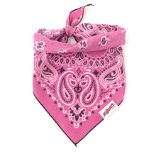Load image into Gallery viewer, Dog Bandana  - Vintage Pink 2