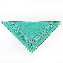 Load image into Gallery viewer, Dog Bandana  - Vintage Pepper Mint