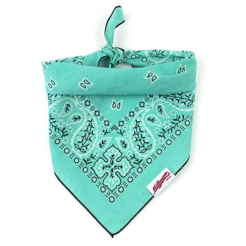 Dog Bandana  - Vintage Pepper Mint