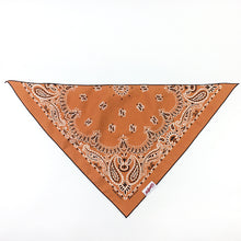 Load image into Gallery viewer, Dog Bandana  - Vintage Orange