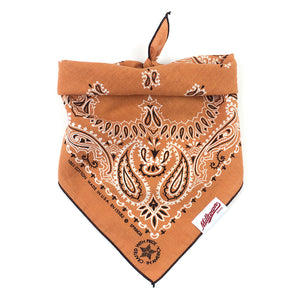 Dog Bandana  - Vintage Orange