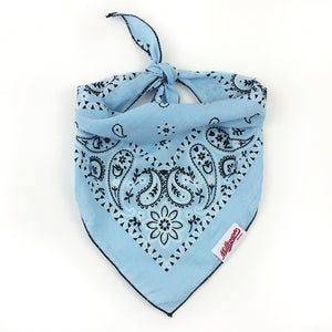 Dog Bandana  - Vintage Light Blue