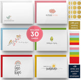 Dessie 30 Fun Thinking of You Cards With Envelopes.