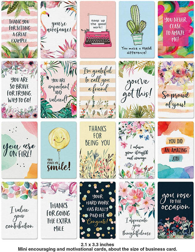 Dessie Motivational Cards - 63 Unique Inspirational Cards