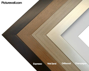 Wood Frame Colors Picturewall.com