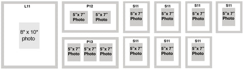 mat and frame sizes
