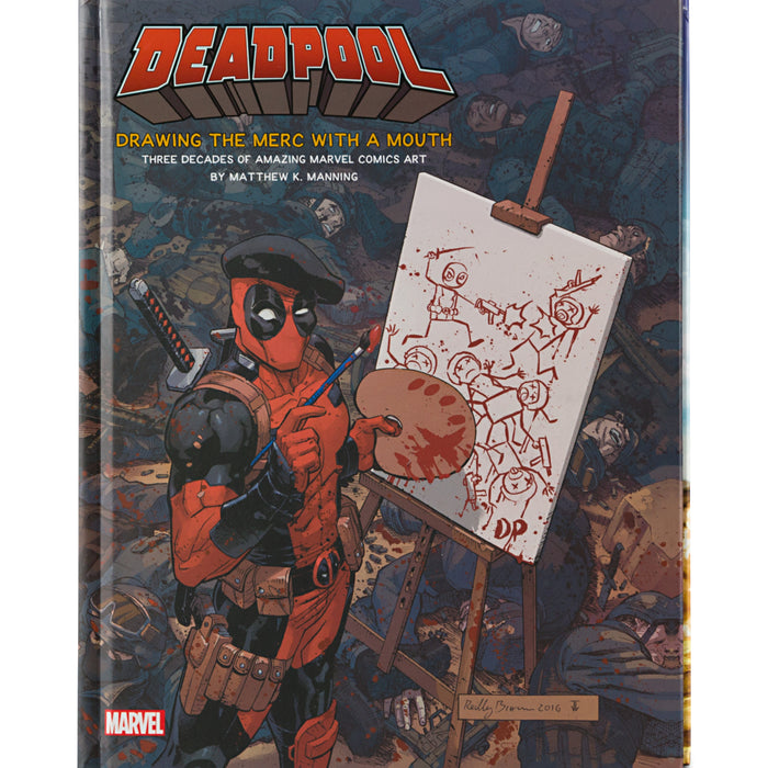 Deadpool: Drawing the Merc with a Mouth Book