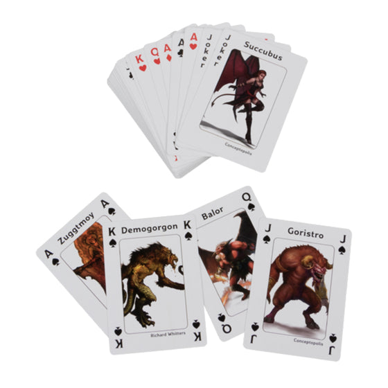 Dungeons & Dragons Playing Cards