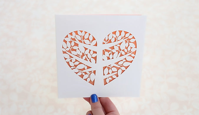 How to make an invitation with our laser-cut cards