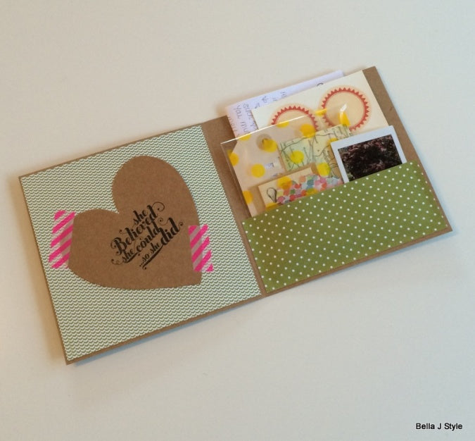 Bella J Style using Alex Mae Tree of Love laser-cut cards