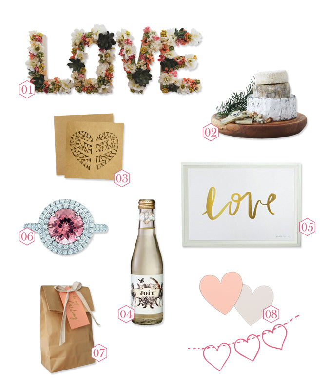 Alex Mae Valentines Day Mood Board
