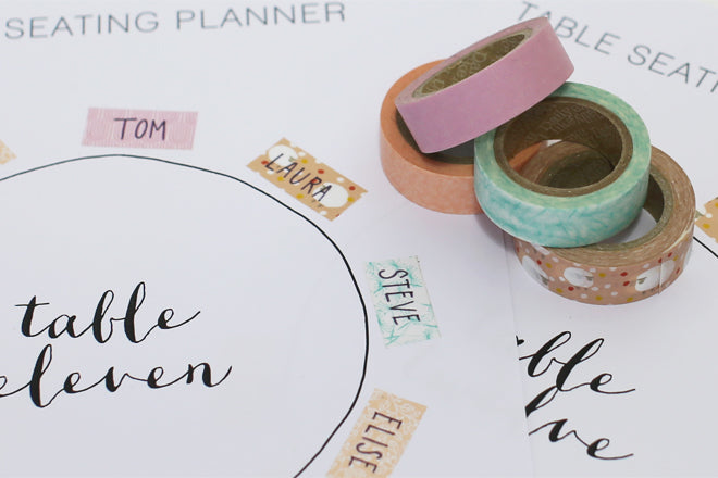 Wedding Round Table Seating Plans