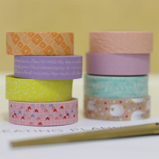 washi masking tapes