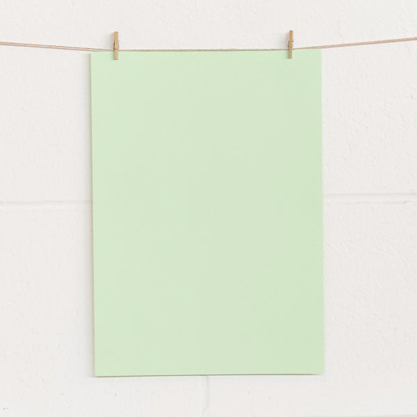 A4 Pale Green 180gsm Card - 100pk