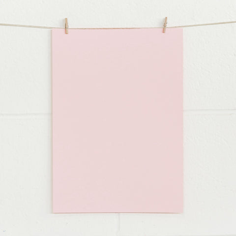 A4 Pale Pink 180gsm Card - 100pk