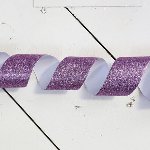 Orchid Glitter Tape, 52mm x 5 metres