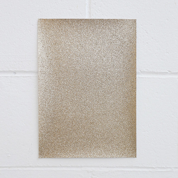 Adhesive Glitter Board, A4 Rose Gold, 5pk