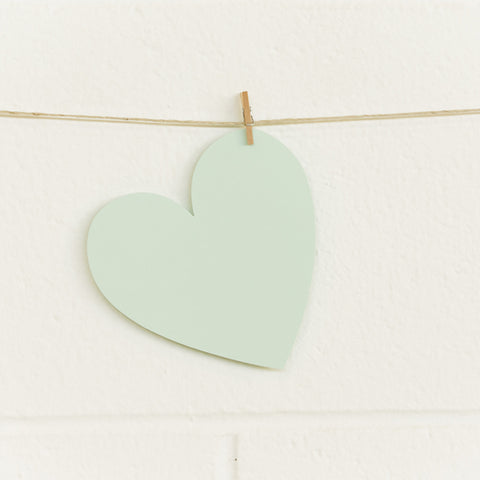 Paper Hearts, Mint Large, 100pk
