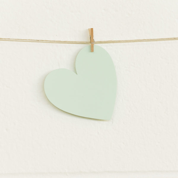 Paper Hearts, Mint Medium, 100pk