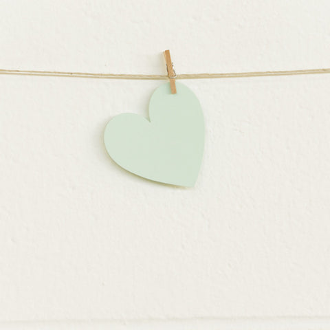 Paper Hearts, Mint Small, 20pk