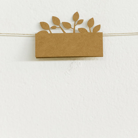 'Tree of Love' Laser-cut Kraft, Place Cards, 10pk